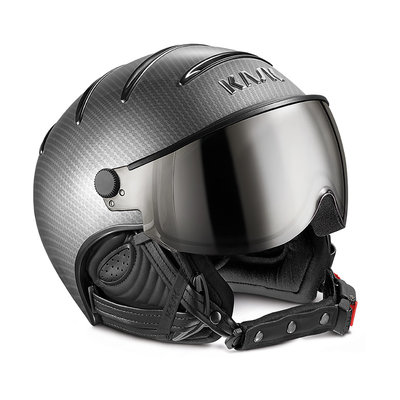 KASK ELITE PRO SKI HELMET - LIGHT CARBON BLACK - PHOTOCHROMIC VISOR CAT. 2 (☀/☁/❄)