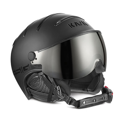 KASK CLASS SHADOW SKI HELMETS  - BLACK - PHOTOCHROMIC VISOR ☁/☀/❄