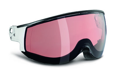 SMOKE PINK PHOTOCHROMIC Cat.2- PIUMA VISOR - FOR KASK CLASS SKI HELMET