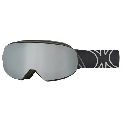 SLOKKER SP1 SKI GOGGLE - with extra lens - BLACK - PHOTOCHROMIC POLARIZED CAT. 1-3