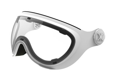 SLOKKER VISOR CLEAR WHITE