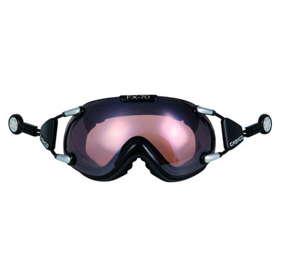 CASCO FX-70 VAUTRON SKI GOGGLE - BLACK - PHOTOCHROMIC POLARIZED CAT. 1-3
