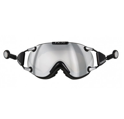 CASCO FX-70 CARBONIC SKI GOGGLE - BLACK - MIRROR CAT. 2