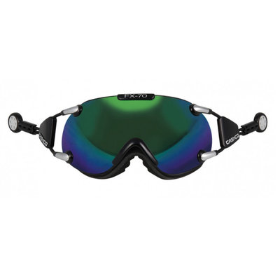 CASCO FX-70 CARBONIC SKI GOGGLE - GREEN - MIRROR CAT. 2