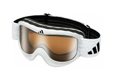 ADIDAS PINNER GOGGLE MATT GLANZEND WIT-LST BRIGHT  (☀/☁)