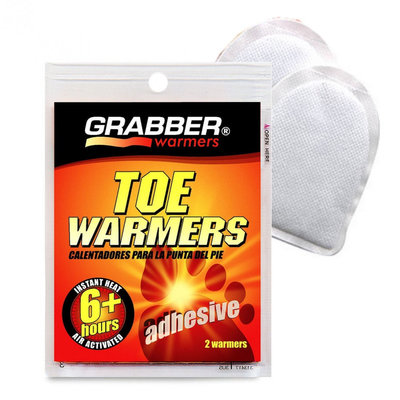 GRABBER TOE WARMERS | UP to 6 HOURS HOT | ALSO IN SKI SOCKS