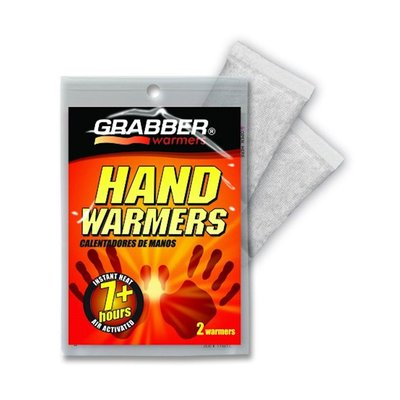 GRABBER HAND WARMERS | UP to 7 HOURS HOT | ALSO IN SKI GLOVES