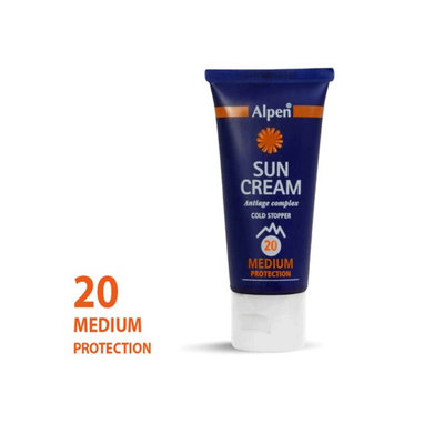 Alpen Sun Combi Roll-On Sunscreen Factor 20+