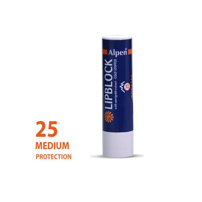 Alpen lipstick Sunscreen Factor 25+