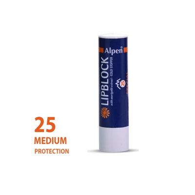 Alpen lipstick Sunscreen Factor 25+