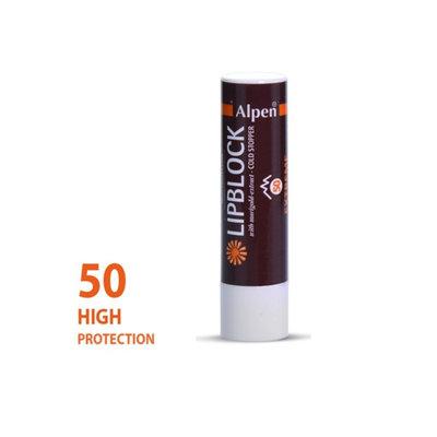Alpen lipstick sunscreen Factor 50+