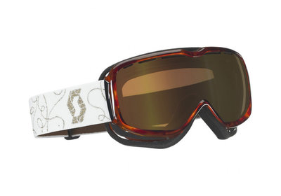 Scott Aura Std Goggle Women Groove Brown