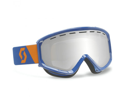 "SCOTT LEVEL GOGGLE BLUE â"" SILVER CHROME"