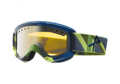 ANON HELIX GOGGLE WITH EXTRA LENS ZIP-ZILVER AMBER