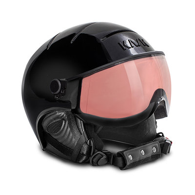 Kask Essential Ski helmet  - Black - Smoke Pink Vario (Cat.2 - ☀/☁)