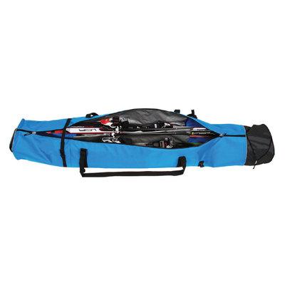 Ski Bag Corvara Vario Duo - blue black - for 2 pair of skis with poles