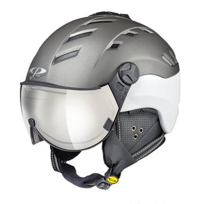 Ski helmet CP camurai - titan white - Photochromic - Mirror  ☁/❄/☀
