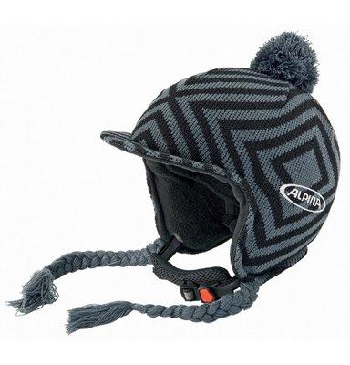 Alpina Beanie Skihelm Grijs Zwart