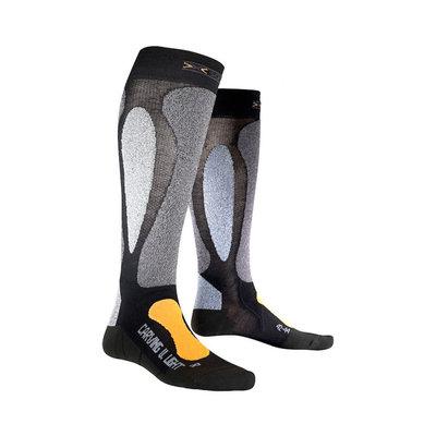 X-Socks Ski Carving Ultralight Skisokken Unisex Zwart Oranje