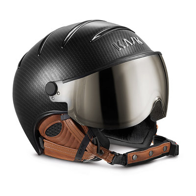 KASK ELITE PRO SKI HELMET - CARBON BROWN - VISOR CAT. 2