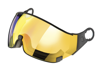 Visor Ski Helmet CP Carachillo - flash gold mirror  ☁/❄/☀