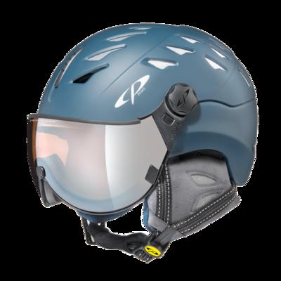Helmet With Visor cp cuma cashmere vario - Photochromic/Mirror/Polarized - blue ☀