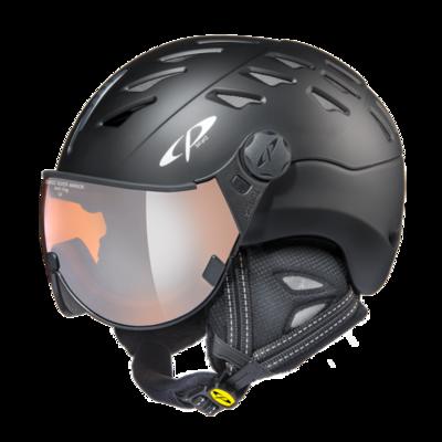 Helmet With Visor cp cuma - Mirror ☁/❄/☀ - black