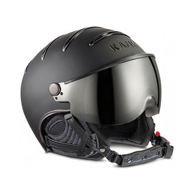 KASK CHROME SKI HELMET -  BLACK - PHOTOCROMIC ☀/☁