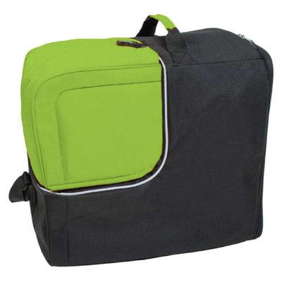 Ski helmet bag & ski helmet bag in one green - ideal with wintersport with plane