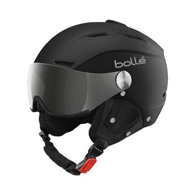 Helmet With Visor Bolle Backline Visor Soft  ❄/☁/☀  - black silver