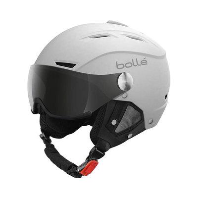 Helmet With Visor Bolle Backline Visor Soft  ❄/☁/☀  - White