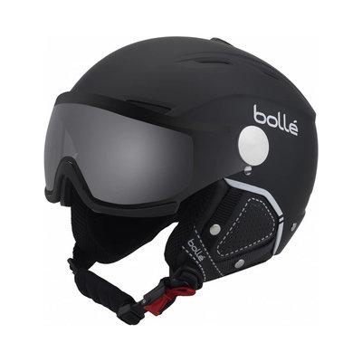 Helmet With Visor Bolle Backline Premium Visor Soft  ❄/☁/☀  - black silver