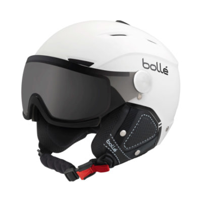 Helmet With Visor Bolle Backline Premium Visor Soft  ❄/☁/☀  - white black