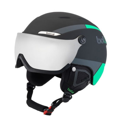 Helmet With Visor Bollé B-YOND  Black & Green  ❄/☁/☀