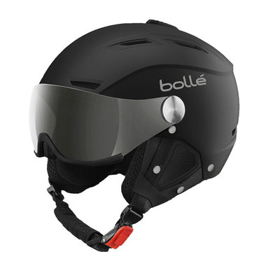 Helmet With Visor Bolle Backline Visor Soft  ❄/☁/☀  - black silver