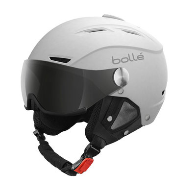 Helmet With Visor Bolle Backline Visor Soft  ❄/☁/☀  - White