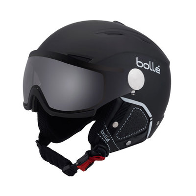 Helmet With Visor Bolle Backline Premium Visor Soft  ❄/☁/☀  - black silver