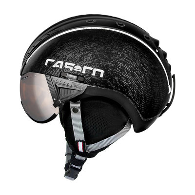 Skihelm Casco SP-2 Visor - Black - with carbonic visor