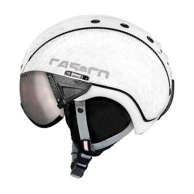 Skihelm Casco SP-2 Visor - white - cat.1-3(☁/❄)