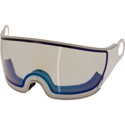Mango Ski helmet Visor Flash Blue Photochromic (☁/❄/☀) - For Mango Cusna & Quota Ski helmets