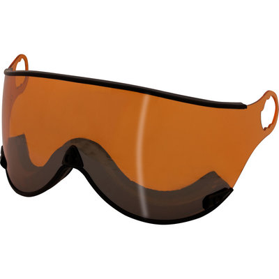 Mango Orange Mirror Visor - Cat.2- For Mango Cusna & Quota Ski helmets