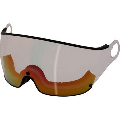 Mango Ski helmet Visor Transparent Red category 2 (☁/☀) - For Mango Cusna & Quota Ski helmets