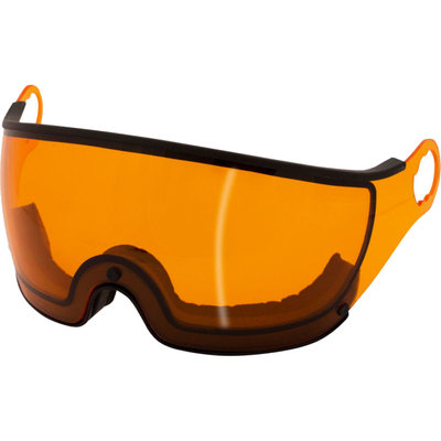 Mango Ski helmet Visor Orange Photochromic (☁/❄/☀) - For Mango Cusna & Quota Ski helmets