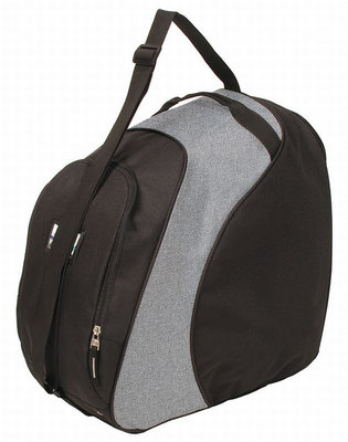 Ski helmet Bag & Skiboots Bag Saporro black grey