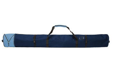 Ski Bag Corvara Vario - blue - for 1 pair of skis with poles