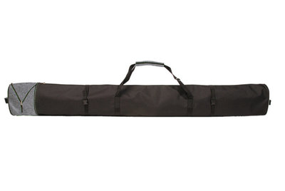 Ski Bag Corvara Vario - grey - for 1 pair of skis with poles
