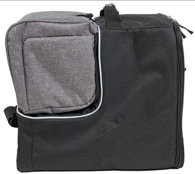Ski helmet bag & ski helmet bag in one grey - ideal with wintersport with plane