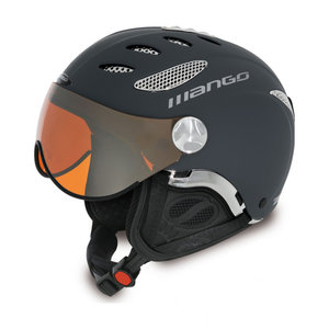 MANGO CUSNA PRO FREE XP SKIHELM - BLUE GRIJS -  ORANGE MIRROR