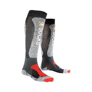 X-Socks Skiing Light Skisokken Unisex Antraciet