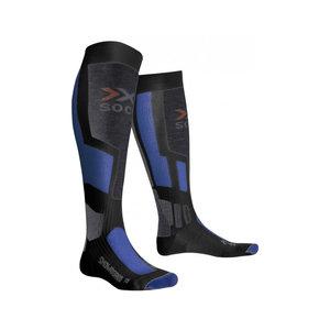 X-Socks Snowboarding Skisokken Unisex Antraciet-Blauw